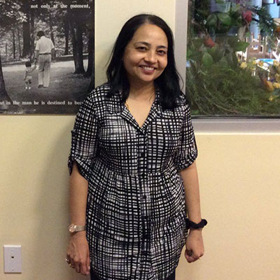 Ms. Urmila of Montessori School of Downtown