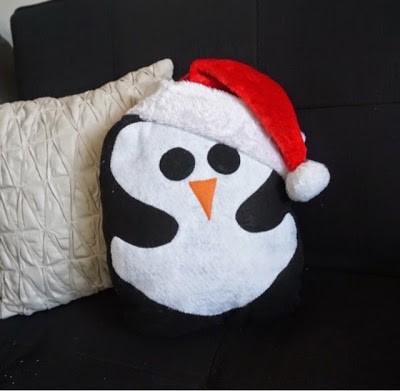 DIY Penguin Pillows