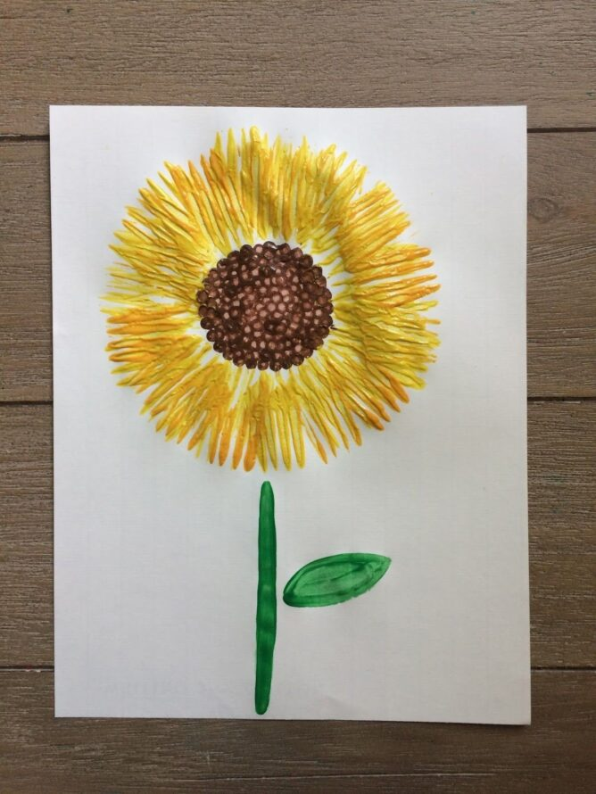 Fork Sunflower