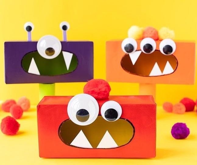 Tissue box DIY
